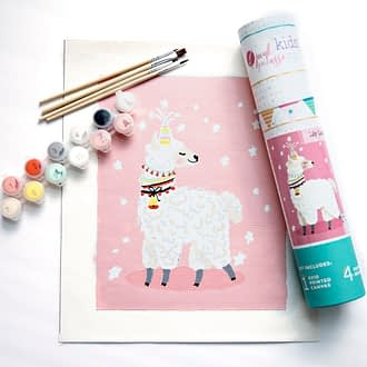Kids Paint By Number – Llama
