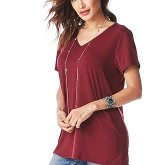 V-Neck Tee – Multiple Colors